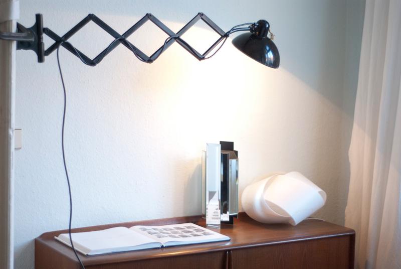 scherenlampe kaiser idell 6614 super fiat lux. Black Bedroom Furniture Sets. Home Design Ideas