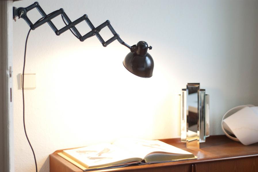 lampen 141 scherenlampe kaiser idell 6718 002 dev fiat lux. Black Bedroom Furniture Sets. Home Design Ideas