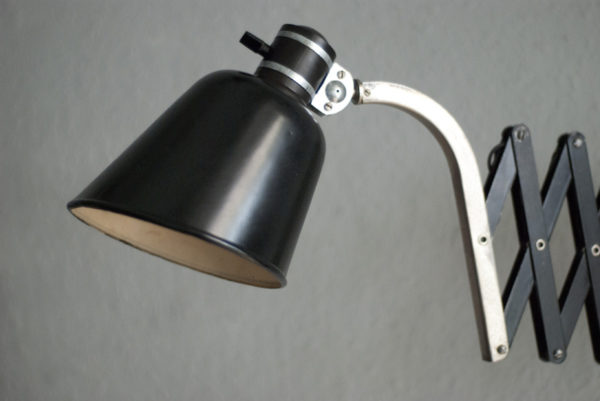 Lampen scherenlampe erpees art deco bauhaus scissor lamp