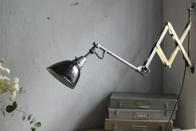 midgard 110 drgm drp unique golden scissor lamp fiat lux. Black Bedroom Furniture Sets. Home Design Ideas