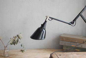 Midgard 110 Vintage Scissor Lamp In Original Condition
