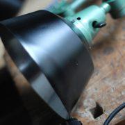 lampen-553-554-paar-gelenkleuchte-wandlampen-midgard-ddrp-originalzustand-hammerschlag-grün-pair-wall-hinged-lamps-hammertone-007