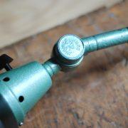 lampen-553-554-paar-gelenkleuchte-wandlampen-midgard-ddrp-originalzustand-hammerschlag-grün-pair-wall-hinged-lamps-hammertone-008