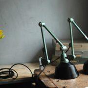 lampen-553-554-paar-gelenkleuchte-wandlampen-midgard-ddrp-originalzustand-hammerschlag-grün-pair-wall-hinged-lamps-hammertone-014